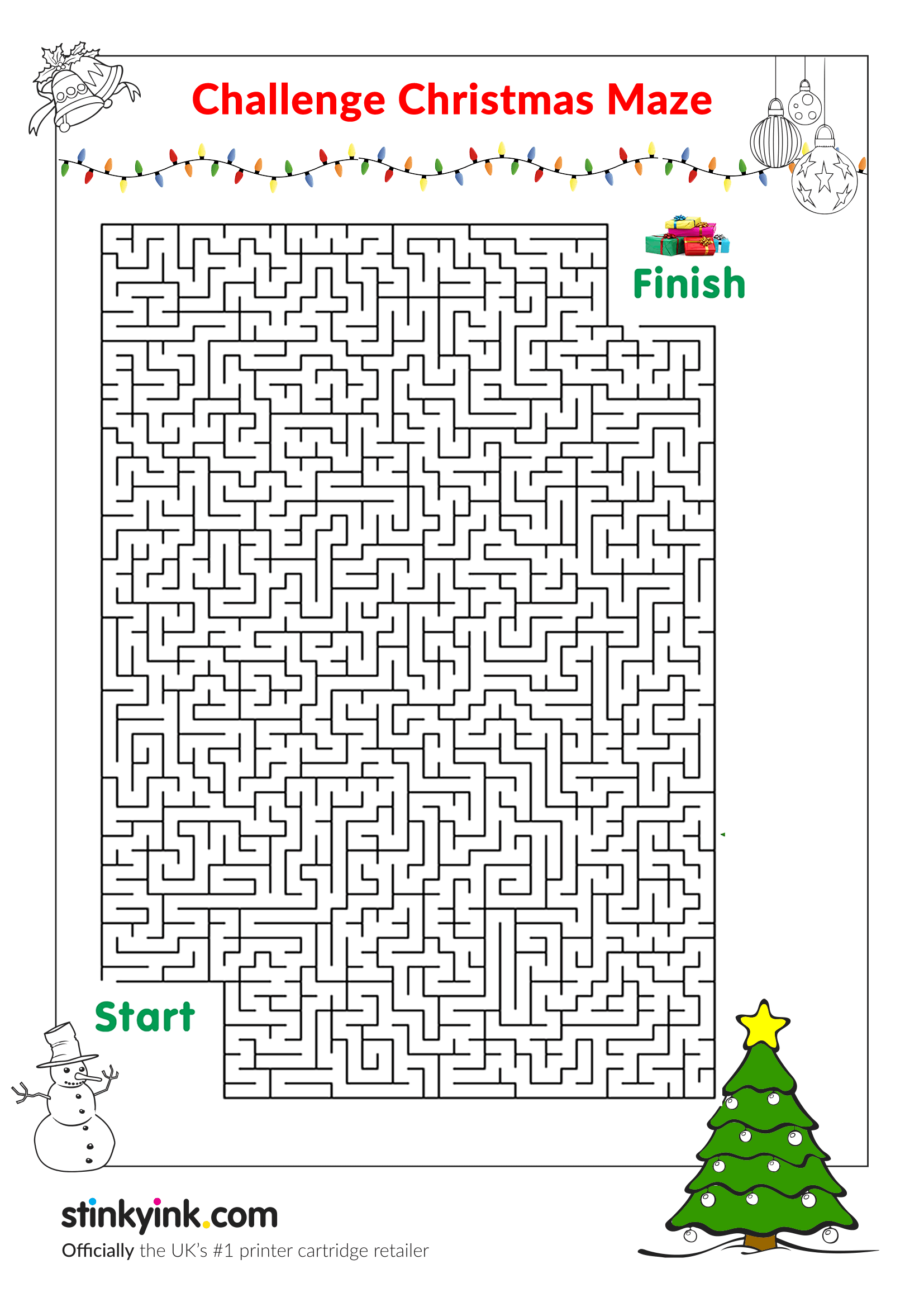 Christmas Mazes.Chirstmas Mazes Images Reverse Search